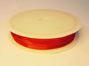 0,8mm Coated copper wire Red