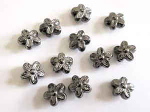 Copper coated bead flower CCB2615 G