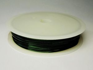0,4mm Coated copper wire green