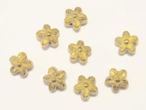 Copper coated bead flower CCB2615 K