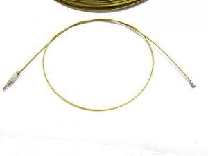 Necklace wire golden yellow