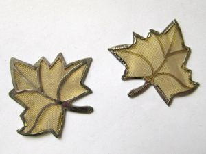 Brass mess leaf MES12