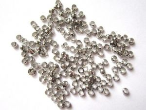 Crimp bead 2,5mm steel