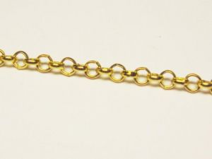 Rolo chain, gold