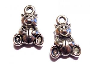 Pendant fat teddy bear
