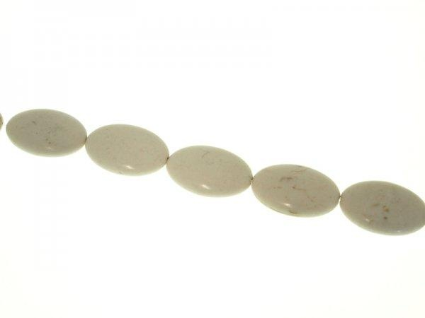 Magnesite natural 20x30mm oval