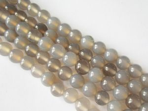 Agate grey 6mm