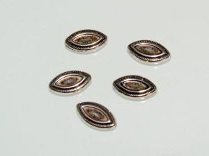 Copper coated bead flatgrain CCB3001