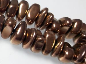 Hematite nugget 3-5x 10-12mm dark copper (88pcs)