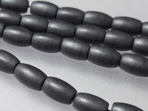 Hematite 3,3x5mm grain matte grey (82 pcs)
