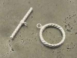 925 silver toggle clasp rope (15mm)