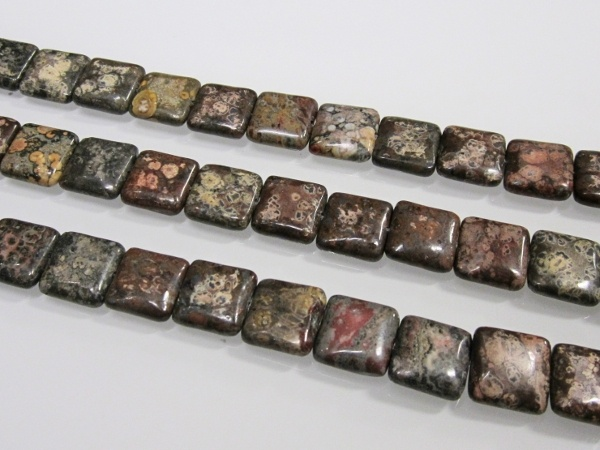 Leopard skin jasper rectangle