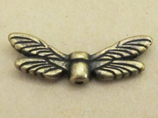 TierraCast spacer bead wings TC5588