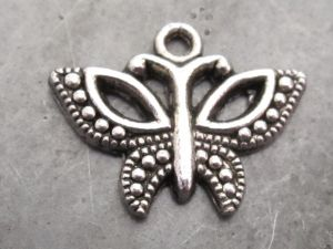 Pendant ball pattern wing butterfly