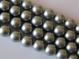 Shell based pearl 12mm light grey