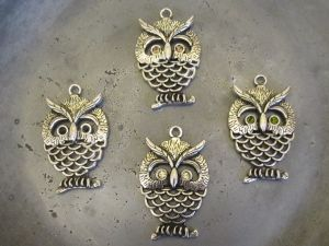 Pendant big owl