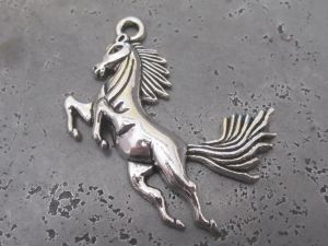 Pendant galloping horse