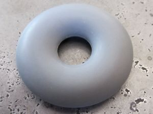 Silicone ring grey