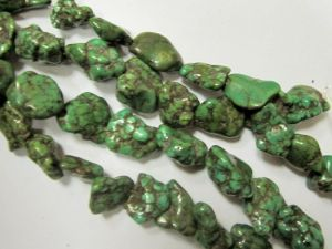 Magnesite dyednugget green