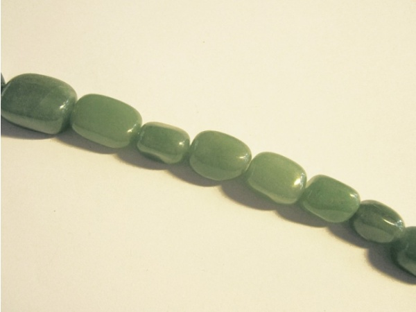 Green aventurine rectangle