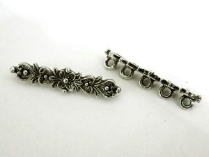 Divider old style flower 5-holes