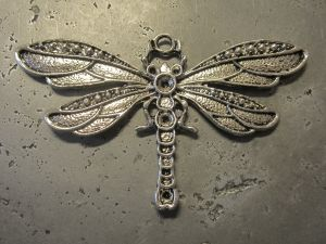 Pendant big dragonfly (1pc)