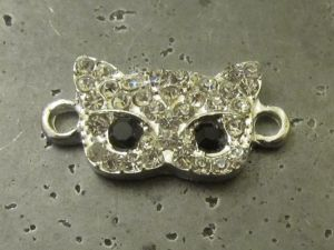 Connector mask with rhinestones