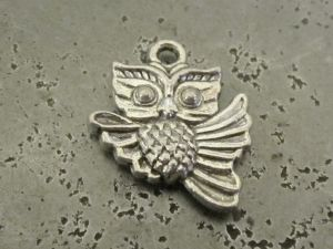 Pendant flying owl (4pcs)