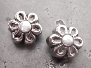 Copper coated bead flower CCB5200