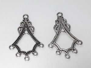 Earring setting 25x37,5mm (6pcs)