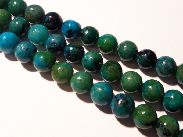 Chrysocolla 6mm (66pcs)