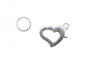 parrot clasp heart