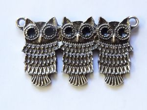 Pendant small owls (1pc)