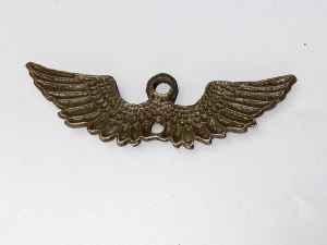 Pendant  / link wings  13x44,5mm AB