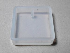 Silicone mold square 25mm