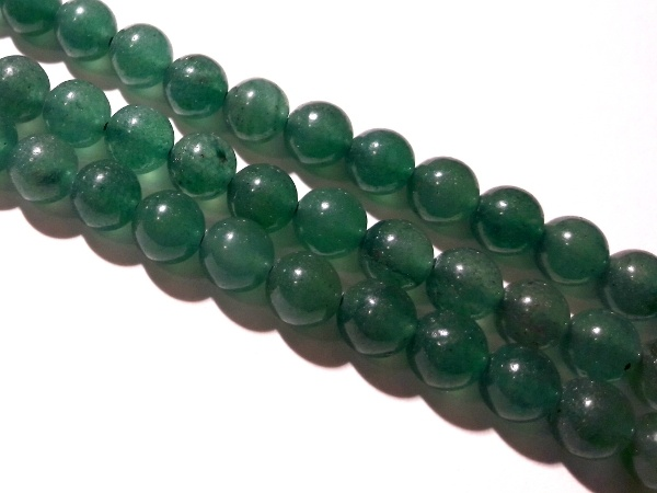 Green aventurine 6,5mm (62pcs)