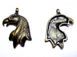 Pendant eagle head E53