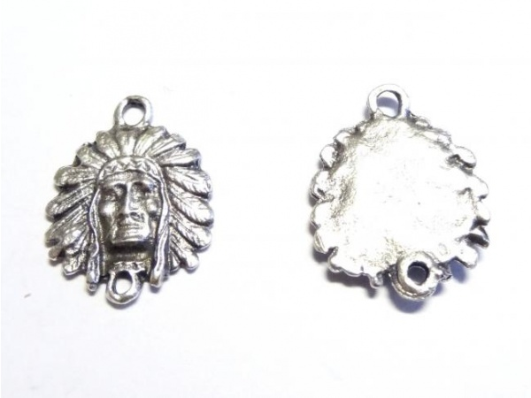 American Indian spacer bead E8