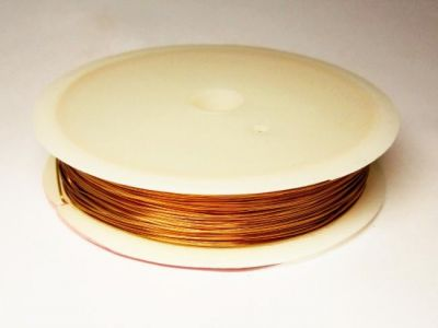 0,6mm Coated copper wire  copper colour