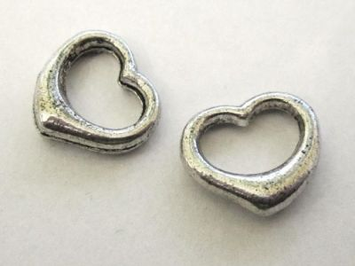 spacer bead Heart JLF0231