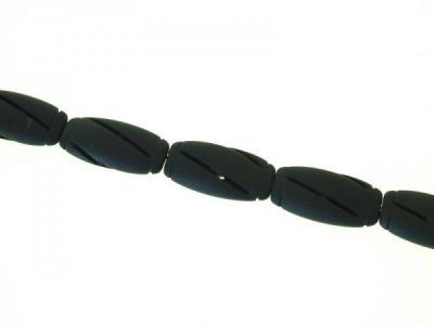 Brazilian black stone flat 16x32x8mm