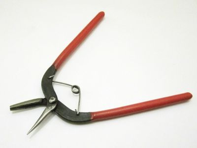 Round nose pliers with groove small professional version