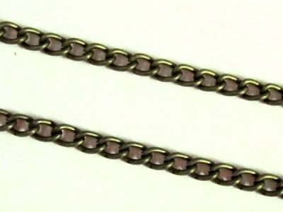 Chain, antique brass plated
