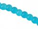 Glass bead 4mm milky turquoise LH26