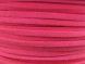 Suede imitation ribbon fuchsia