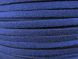 Nappa imitation ribbon metallic dark blue