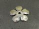 Metal bead flower (6pcs)