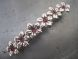 Copper coated bead flower CCB4301