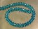 Crystal rondelle 4x6mm turquoise KRR0048