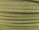 Suede imitation ribbon olive